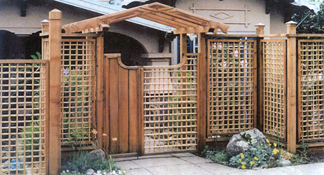 decorative gate in bamboo fence stock image image of.htm oceanic arts catalog tropical fencing  bamboo   rattan poles  tropical fencing  bamboo   rattan poles